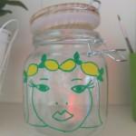 bocal citron illustration diy