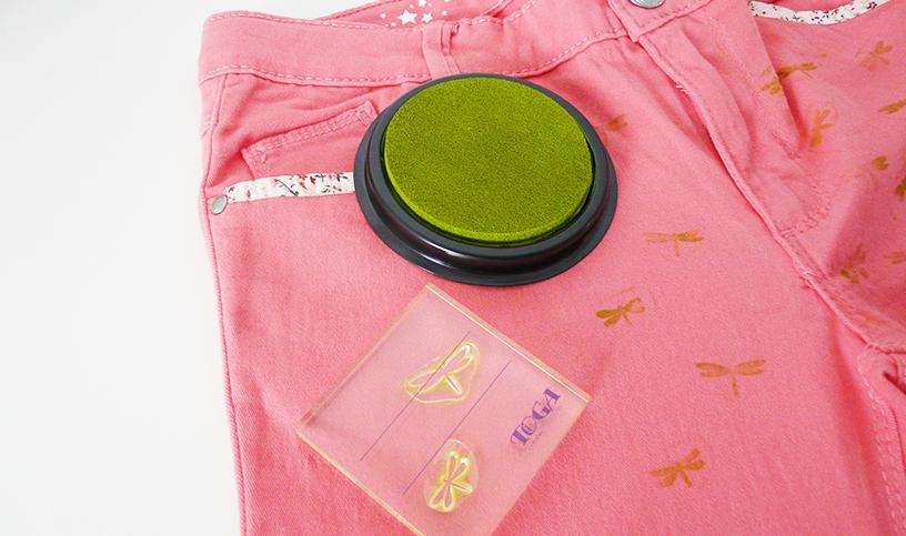Tampons-textile-pantalon-enfant-DIY