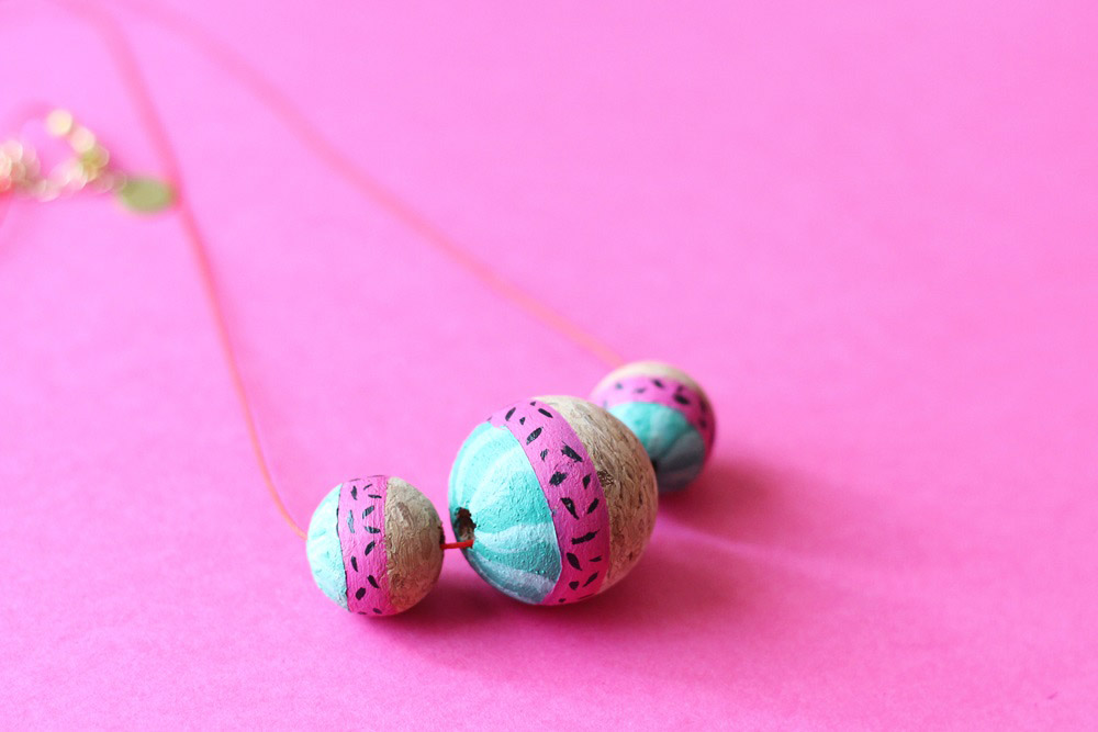 diy-collier-pasteque-été-19-summer-watermelon-necklace-