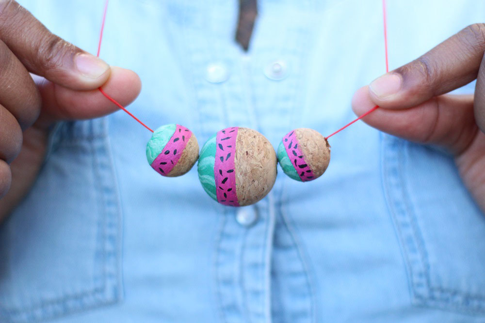 diy-collier-pasteque-été-23-summer-watermelon-necklace-